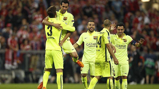 Barcelone en finale de la Ligue des champions