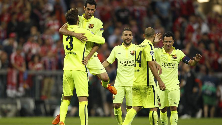 Barcelona through to Champions League final despite 3-2 Bayern loss