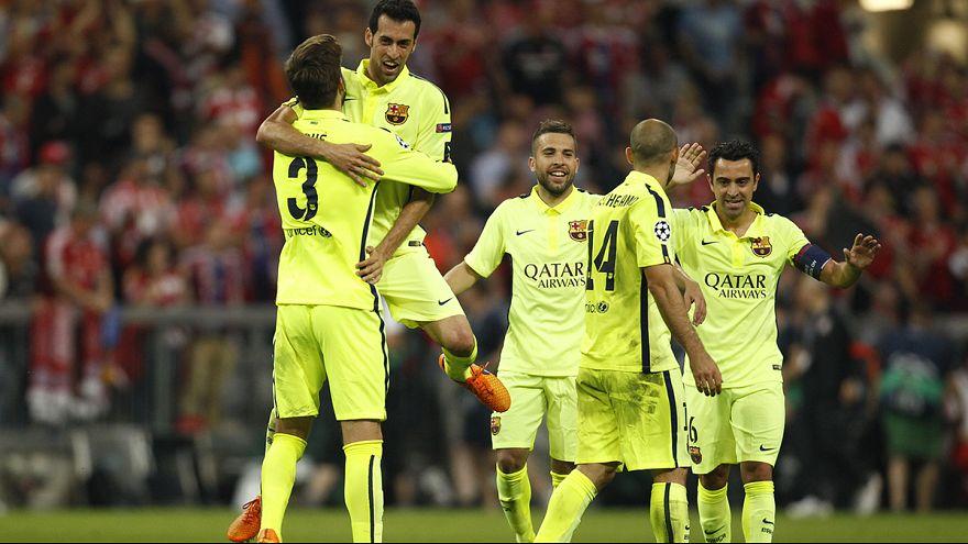 دوري الأبطال: برشلونة أول المتأهلين إلى النهائي