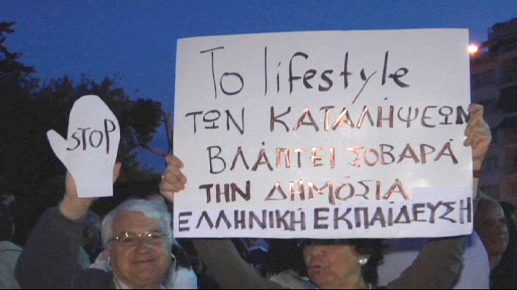 Ewige Studenten und gewählte Rektoren - Professoren gegen Bildungsreform in Griechenland