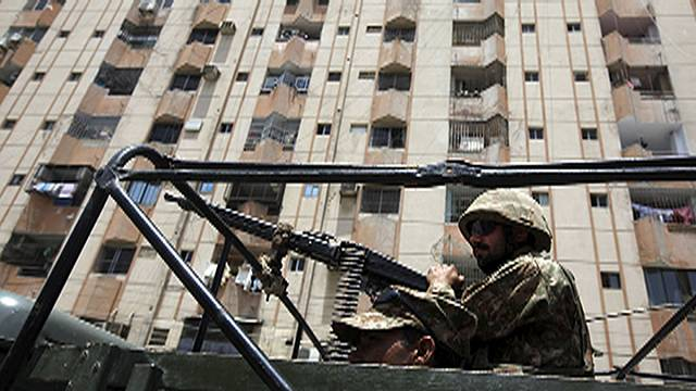 Motorcycle gunmen kill 41 in Karachi bus attack