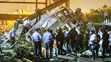 At least five dead and dozens hurt in Philadelphia train crash