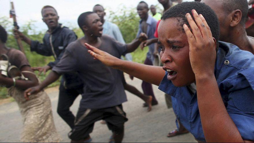 Affrontements violents au Burundi