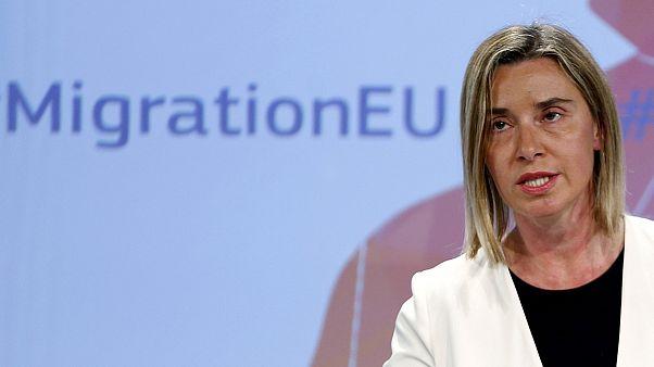 استراتيجية  لتقاسم المسؤولية في  مجال الهجرة غير الشرعية