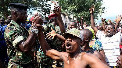 Golpe de Estado en Burundi. El presidente está en Tanzania