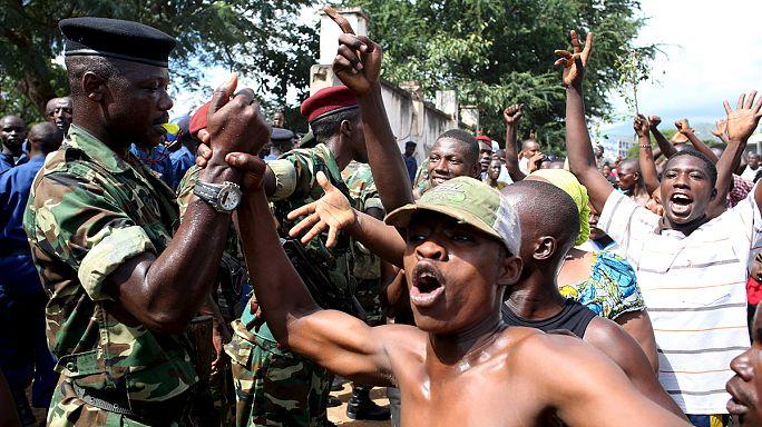 Burundiban egy tábornok puccsot jelentett be