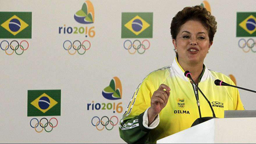 Brazilian President Rousseff to step up involvement in preparations for Rio 2016