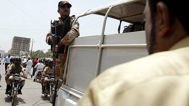 Pakistan's PM condemns deadly bus attack in Karachi