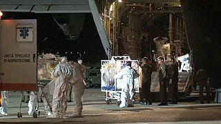 انتقال پرستار ایتالیایی مبتلا به ابولا به رم