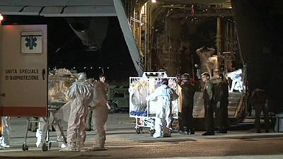 Italy's second case of Ebola gets treatment in Rome
