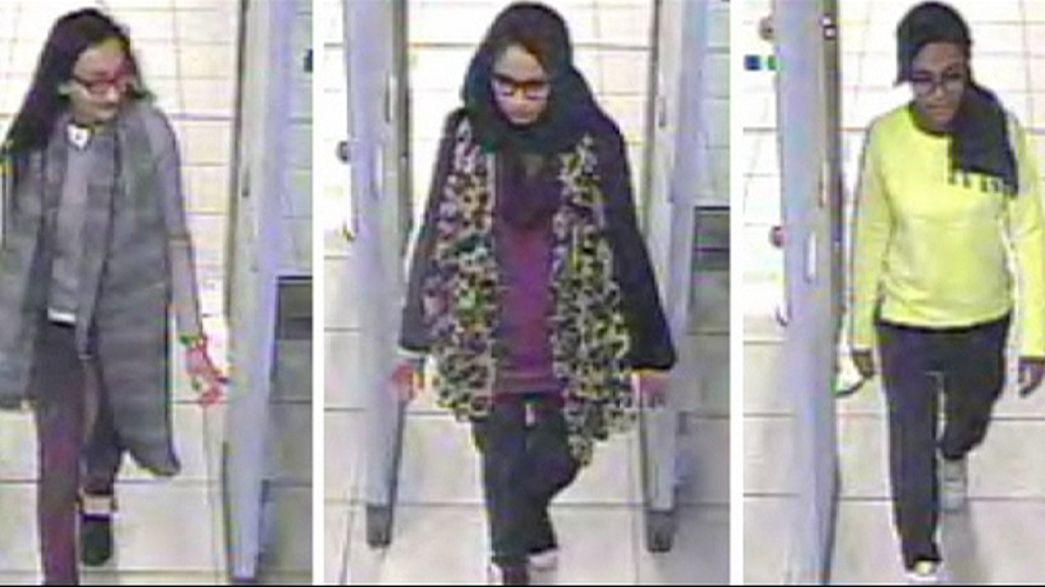 Drei britische Schülerinnen wohl auf der Flucht vor Dschihadisten