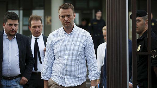 El opositor ruso Alexéi Navalni escapa a la cárcel por violar la libertad condicional
