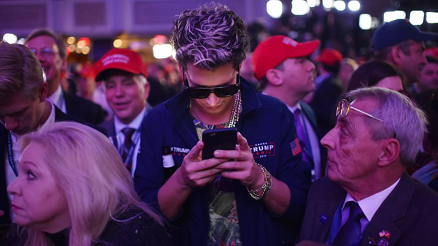 Donald Trump Holds Election Night Event New York City