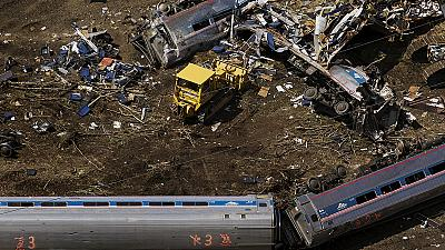 Amtrak train derailed at twice the speed limit