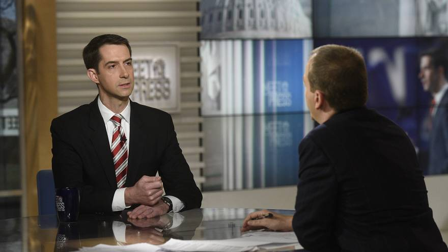 Tom Cotton: Support for immigration deal won't hinge on Trump