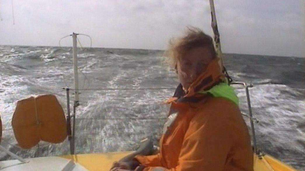 """La navigatrice Catherine Chabaud: """"la voce dell'oceano al COP21 di Parigi contro l'effetto serra"""""""
