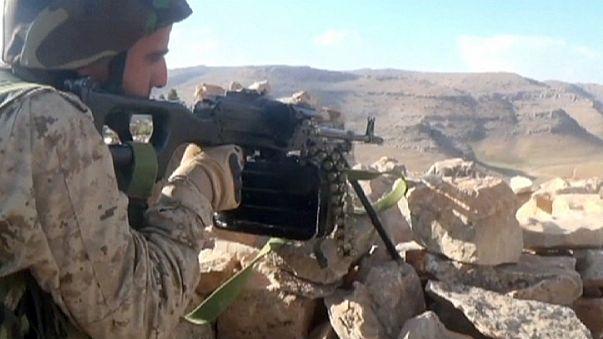 Syrische Regierungstruppen auf dem Vormarsch