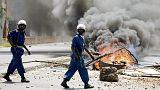 Confusión total en Burundi tras el alzamiento militar