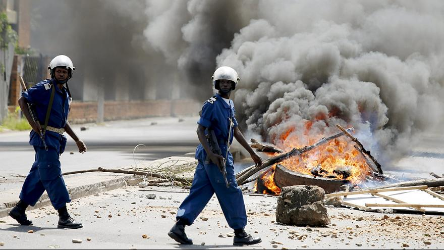Battle for power continues after attempted coup in Burundi