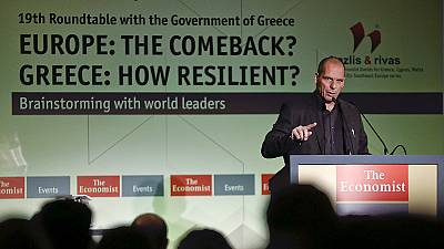 """Varoufakis says Greek debt swap would """"fill Draghi's soul with fear"""""""