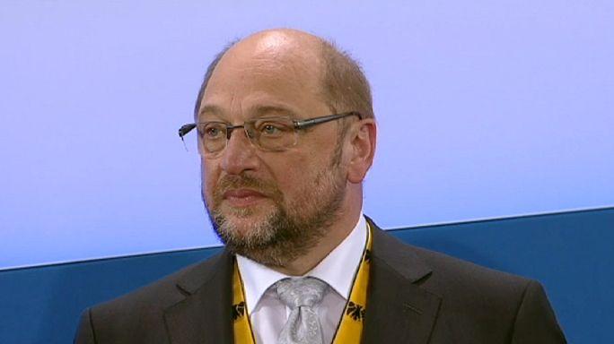 Karlspreis für EU-Parlamentspräsident Martin Schulz