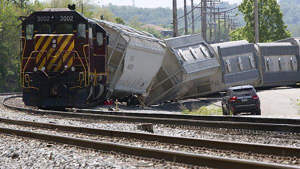 C'è anche un italiano fra vittime disastro ferroviario di Filadelfia. Il convoglio andava troppo veloce