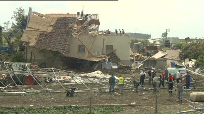 Ураган на юге Германии