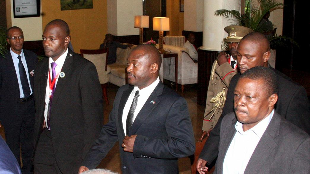 President Nkurunziza returns to Burundi after 'failed coup'