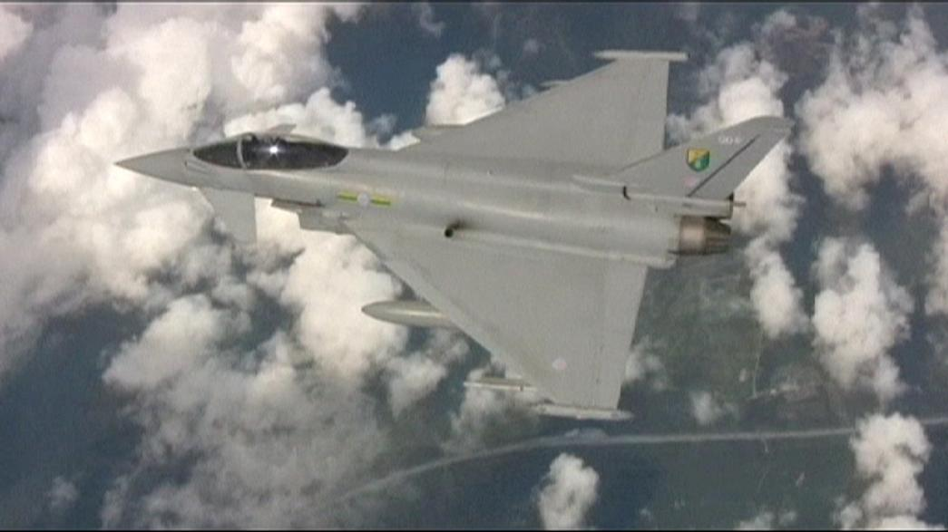 British RAF jets intercept Russian bombers near UK airspace