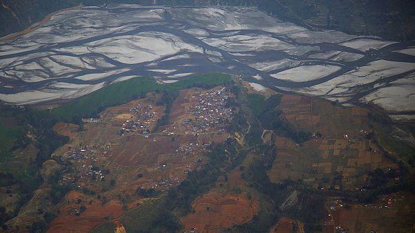 Nepal, ritrovati i resti dell'elicottero militare Usa scamparso martedì