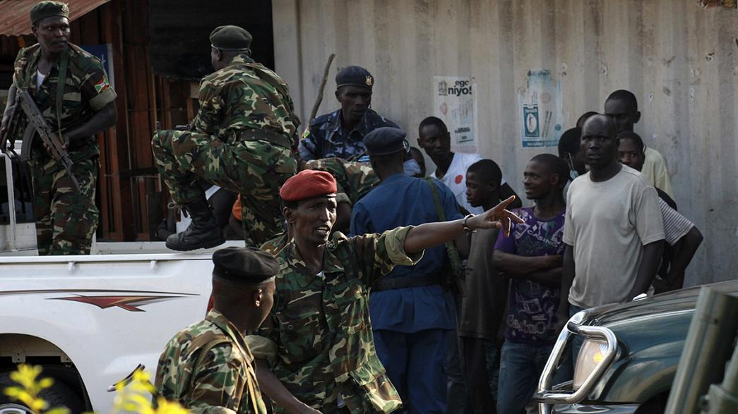 Burundi: los jefes golpistas arrestados o en busca y captura