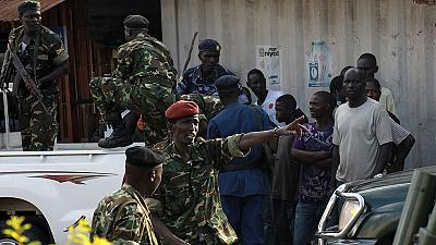Burundi: Três generais golpistas detidos