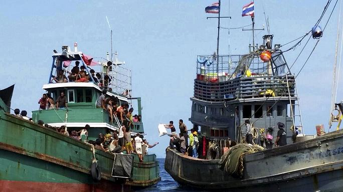 Cast adrift in floating prisons: The tragedy of Asia's new 'boat people'