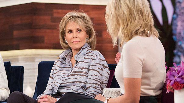 Image: Megyn Kelly interviews Jane Fonda