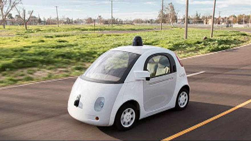 Google's self-drive car prepares for first test drive around town