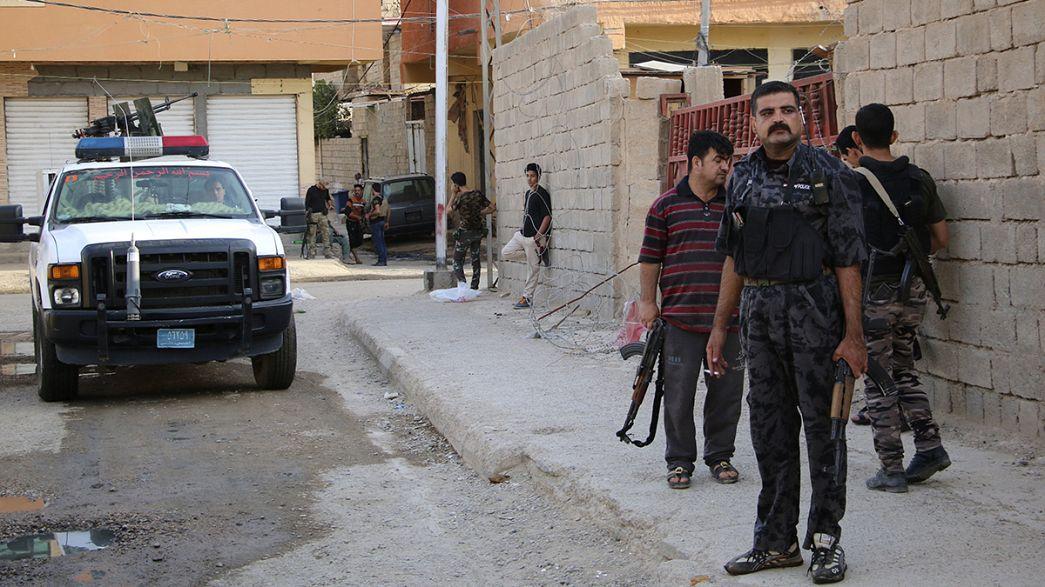 El grupo Estado Islámico controla gran parte de Ramadi, capital de la provincia iraquí de al Anbar