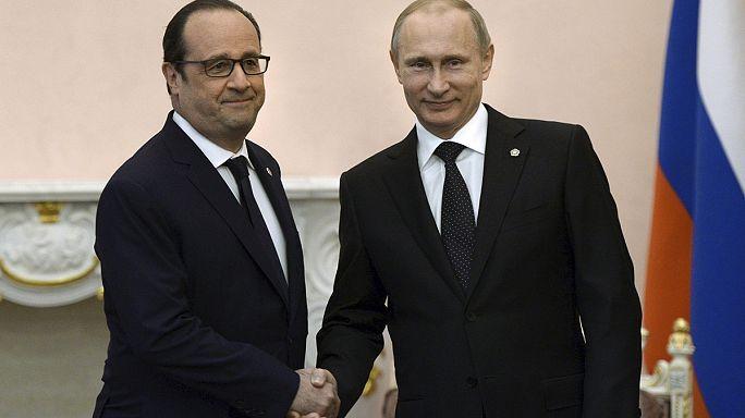 Moscou et Paris pas d'accord sur le remboursement des Mistral non livrés