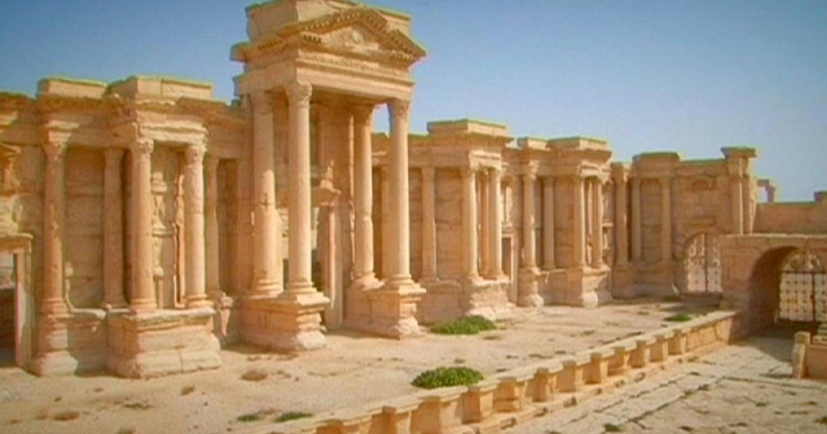 Syria Ancient City Of Palmyra Under Threat Of Isil