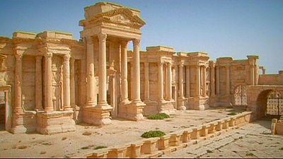 Las ruinas de Palmira corren el riesgo de convertirse en un campo de batalla