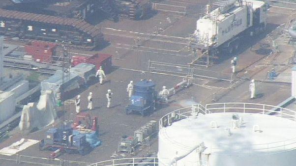 Fukuşima'da koruma kalkanı sökülüyor