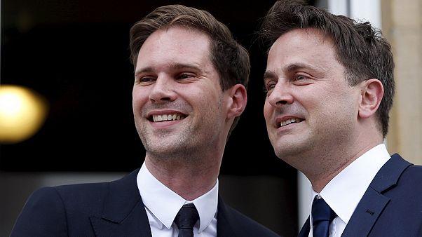 ازدواج نخست وزیر همجنسگرای لوکزامبورگ با شریک زندگیش