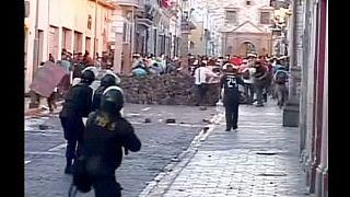Περού: Διαδηλώσεις κατά της λειτουργίας ορυχείου