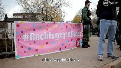 Nazis against Nazis - Germany's most involuntary charity walk (ZDK Gesellschaft Demokratische Kultur)