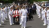 Funeral held for US Naval officer killed in Philadelphia train tragedy