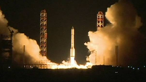 Russian rocket plunges to earth minutes after launch