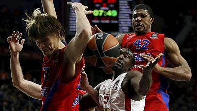 Real Madrid and Olympiakos meet in Sunday's Euroleague final
