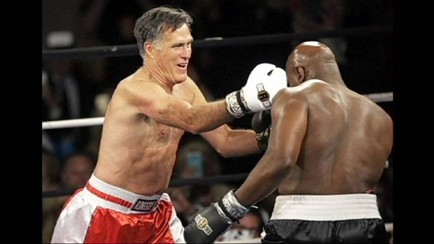 Boxe per beneficenza: Romney sul ring