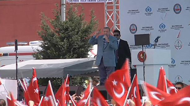 Turkey: Erdogan condemns Egypt death penalty ruling against ousted Mursi
