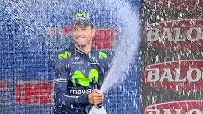 Giro d'Italia: a Intxausti l'8a tappa, Contador sempre leader con Aru a 4''