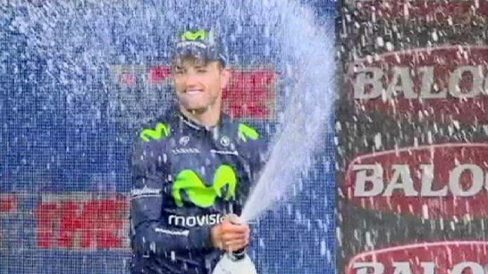 """Испанский день на """"Джиро"""": Инчаусти выигрывает этап, Контадор сохраняет розовую майку"""